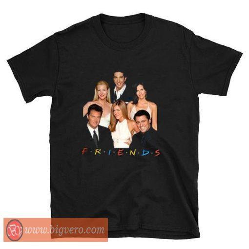 Friends The Movie Photos T Shirt
