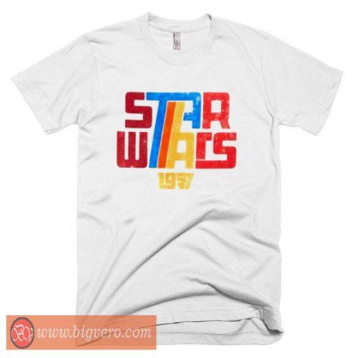 Star Wars 1977 Retro T Shirt