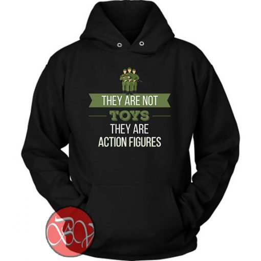 They Are Action Figure Hoodie