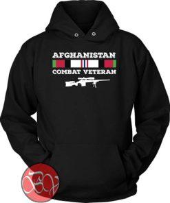 Afghanistan Combat Veteran Hoodie