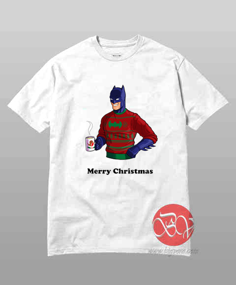 Batman Merry Christmas T-Shirt
