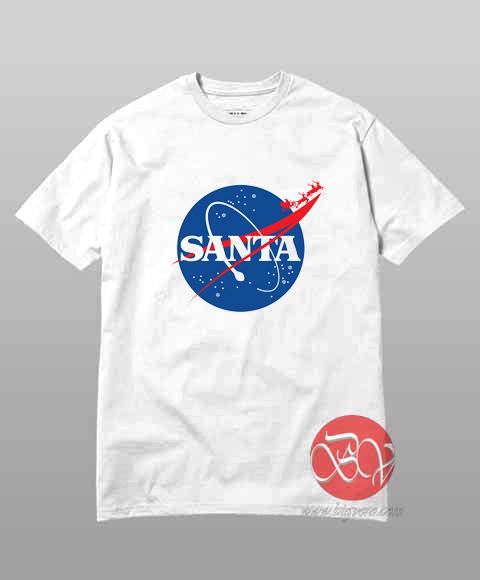 Santa Parody Nasa T Shirt