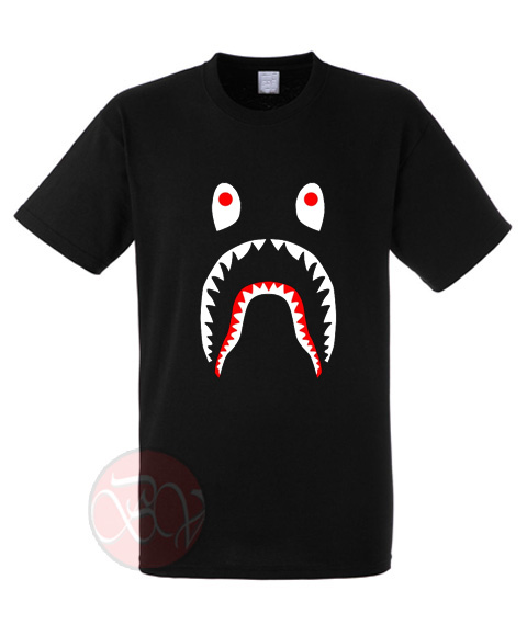 Bape Shark Parody T-Shirt