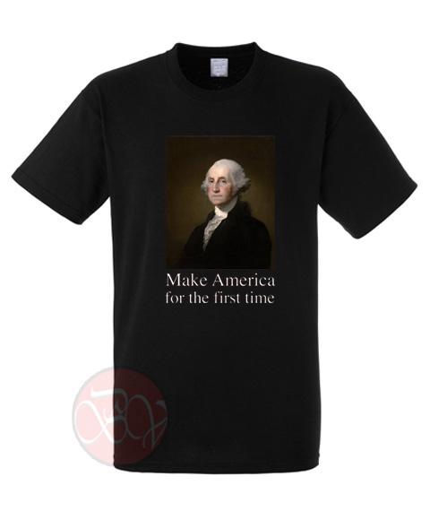 George Washington Vintage Potrait T Shirt