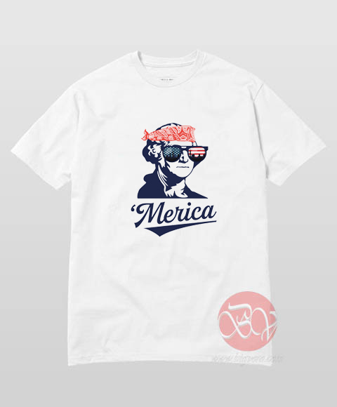 Merica George Washington T Shirt