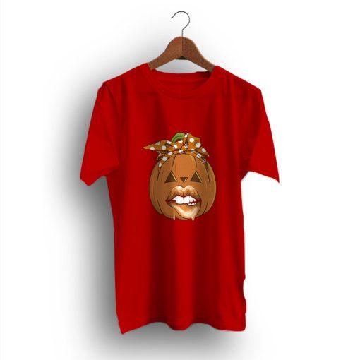 Mommy Lil Pumpkin Woman Halloween T-Shirt