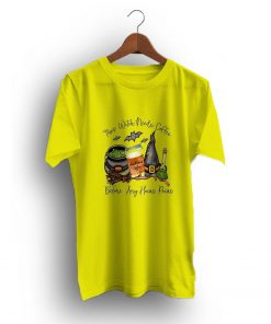 This Witch Needs Coffee Funny Halloween T-Shirt