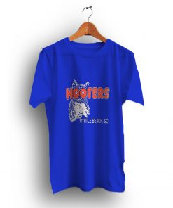 Authentic Look Blue Hooters Myrtle Beach T-Shirt