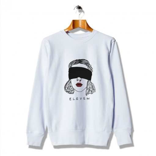 Awesome Stranger Things Eleven Halloween Sweatshirt