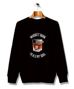 Comfortable Whiskey Cigar Short Beer Sweatshirt