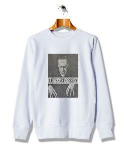 Cool Ideas Let's Get Creepy Frankenstein Sweatshirt