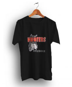 Cool Look Vintage Hooters Myrtle Beach SC T-Shirt