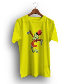 Cute Happy Squidward Marching Band Cartoon-T-Shirt