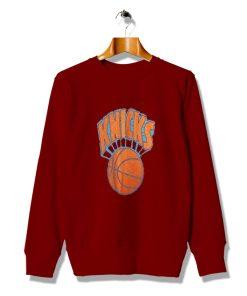 Fitted Retro Knicks Basket Ball Vintage Sweatshirt