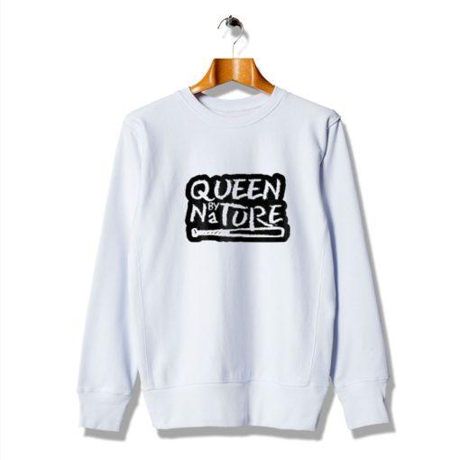 Get Buy Gifts Queen Nature White Sweatshirt