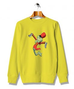 Happy Squidward Marching Band Cute Sweatshirt