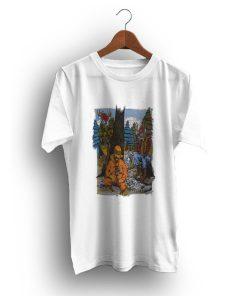 Hunting Outdoor Scene Deer Hunter Cartoon T-Shirt