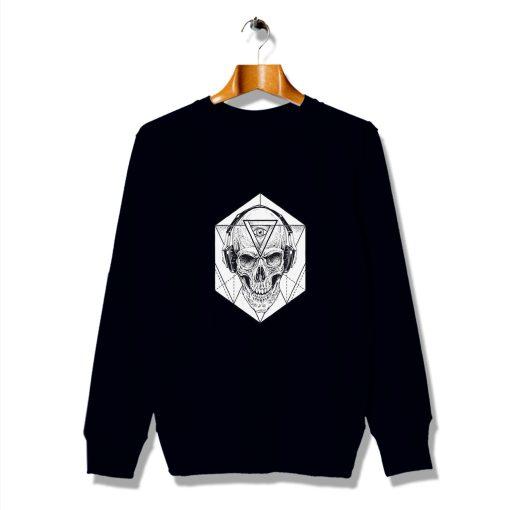 Skull Art Minimalism Cheap Awesome Sweatshirt