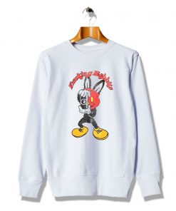Bunny Loved Masked Rabbit Cheap Sweatshirt
