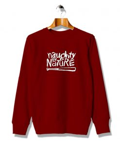 Naughty Queen By Nature Red Sweatshirt