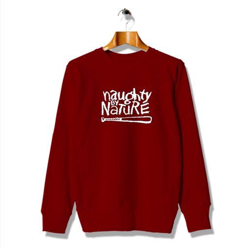 Naughty Queen By Nature Red Sweatshirt