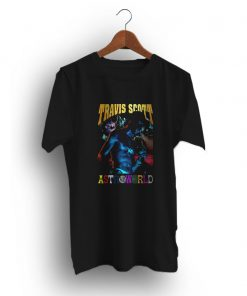 New Casual Tour Logo Travis Scott Astroworld T-Shirt