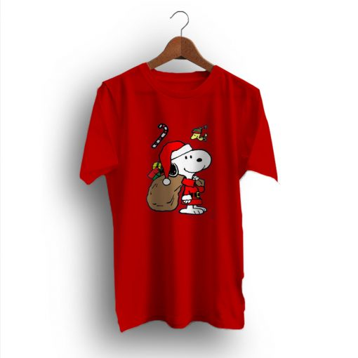Sloppy Joe Snoopy Christmas Thanks Giving T-Shirt