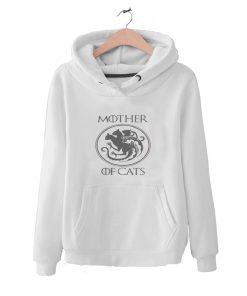 Targaryen Mother Of Dragon Cat Lover Gift Funny Hoodie