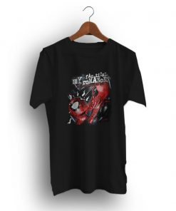 Three Chiming Spiderman Deadpool My Chemical Romance T-Shirt