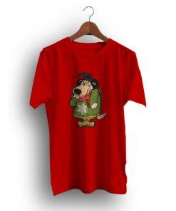 Anime Hanna Barbera Wacky Races Muttley Vintage T-Shirt
