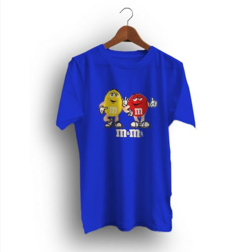 Awesome Idea Character M&m Chocolates 90s T-Shirt