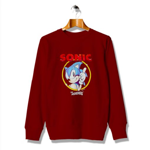 Cool Art Ideas Sonic The Hedgehog Vintage Sweatshirt