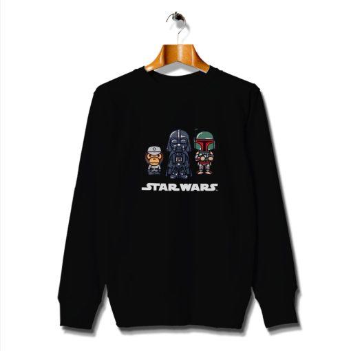 Fan Cool Features Characters Star Wars Sweatshirt