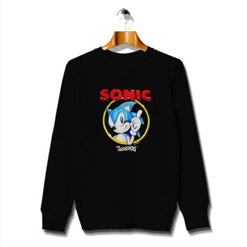 Idea Game Sonic The Hedgehog Vintage Sweatshirt