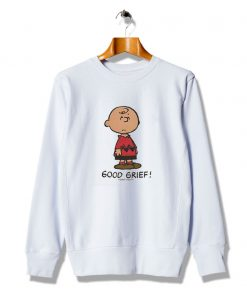 Ideas Cartoons Good Grief Slogan Sweatshirt