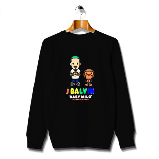 Inspired Headliner J Balvin And Baby Milo Sweatshirt
