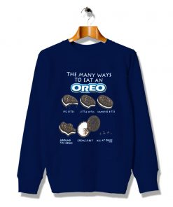 Crips Oreo Cookies Snack Icon Vintage Sweatshirt