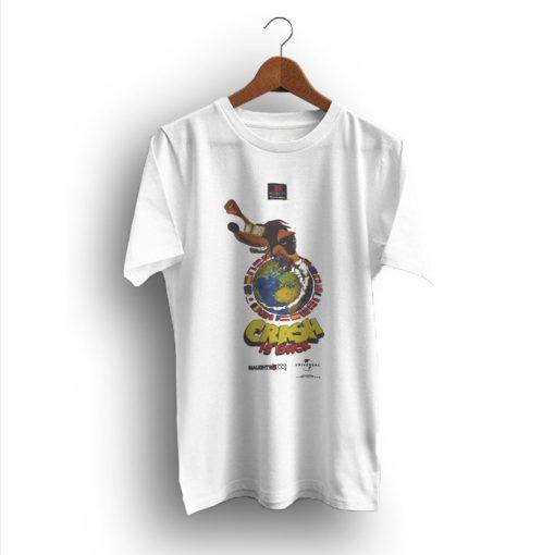Icon Art Ideas Crash Bandicoot 2 90s Vintage T-Shirt