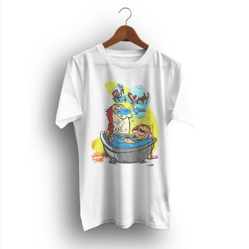 The Kit Stands Lovable Ren And Stimpy Vintage T-Shirt