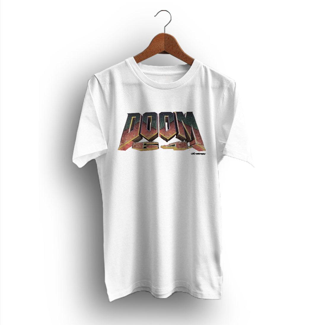 DOOM Super high quality premium black regular T Shirt