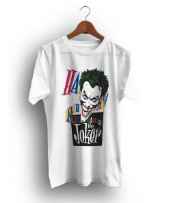 Comics Laughing Joker HaHaHa Batman 1987 Vintage T-Shirt