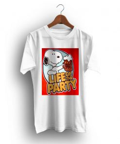 Life Of The Party The Peanuts Snoopy Beer T-Shirt