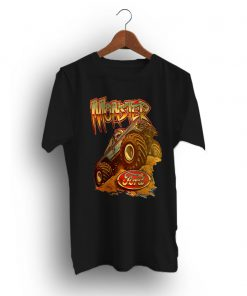 Big Foot Old School Muscle Car Monster Truck T-Shirt