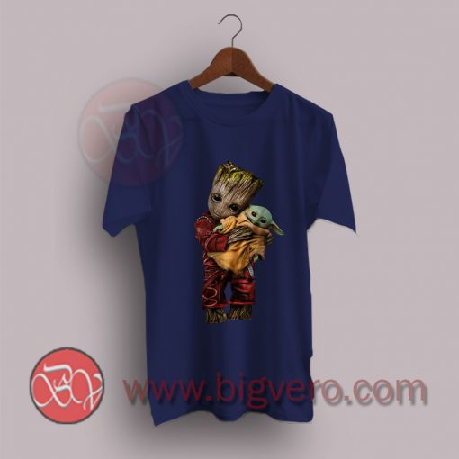 Adopt Baby Groot Holding Yoda The Child T-Shirt