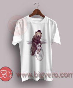 Barnabus Cycling Funny Cartoon T-Shirt