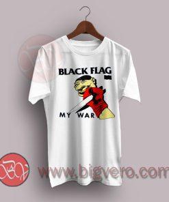Black Flag Grunge My War T-Shirt