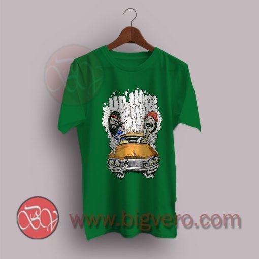 Cheech-&-Chong-Up-In-Smoke-Graphic-T-Shirt