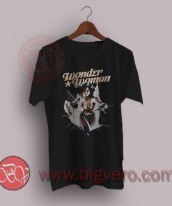 Wonder Woman Comics Break Out T-Shirt