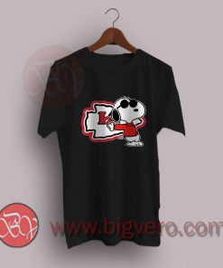 Woodstock Kansas City Chiefs Snoopy T-Shirt