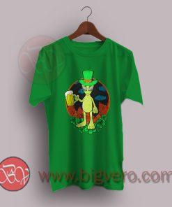 St Patrick Day Drinking Alien T-Shirt